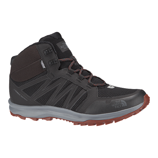 d3798c597 The North Face Men's Litewave Fastpack Mid Hiking Boots - Grey/Brown