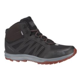 The North Face Men's Litewave Fastpack Mid Hiking Boots - Grey/Brown