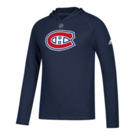 Montreal Canadiens Logo Premier Ultimate Long Sleeve Hoodie