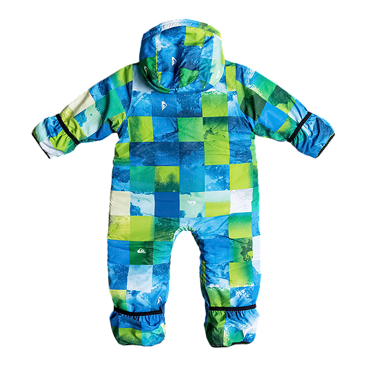 2ed3a5858c33 Quiksilver Infant Little Rookie Insulated Baby Snowsuit