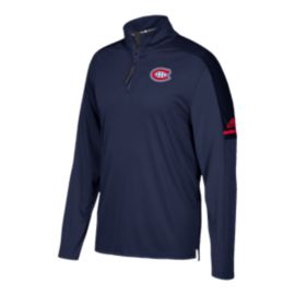 Montreal Canadiens Authentic Pro 1/4 Zip Jacket