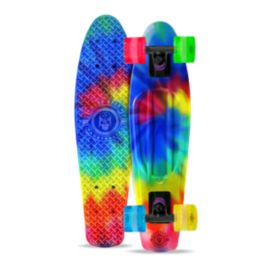 Madd Gear Retro Tye Dye Wrapped Skateboard