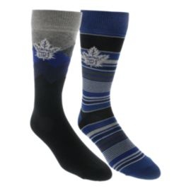 Toronto Maple Leafs Dress Socks - 2-Pack