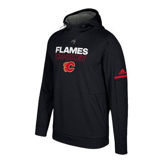 timeless design 36922 edcd6 Calgary Flames Authentic Pro Player Hoodie