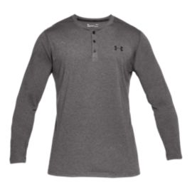 Under Armour Men's Threadborne Long Sleeve Henley Training Shirt