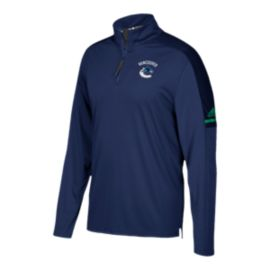 Vancouver Canucks Authentic Pro 1/4 Zip Jacket