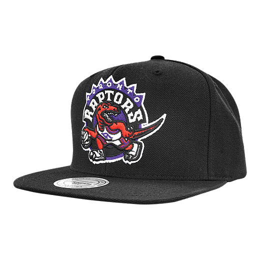 quality design a2074 b7050 Toronto Raptors Mitchell and Ness Wool Solid 2 Snapback Cap - BLACK