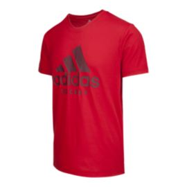 adidas Men's Hockey Badge of Sport T Shirt