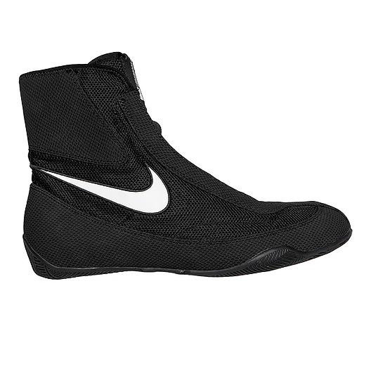 Nike BlackwhiteSport Machomai Chek Mid Shoes Men's Boxing 5Aj4qRL3
