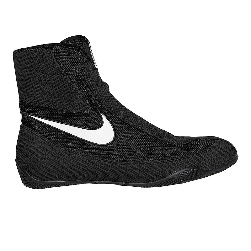 buy online 4f359 8e3c6 Nike Men s Machomai Mid Boxing Shoes - Black White