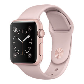 Apple Watch Series 1, 38mm Rose Gold with Pink Sand Band