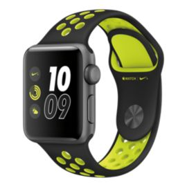 Apple Watch Nike+, 38mm Space Grey with Black/Volt Band