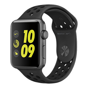 Apple Watch Nike+, 42mm Space Grey with Anthracite/Black Band