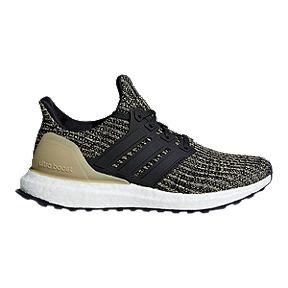 adidas kids ultra boost grade school running shoes black gold