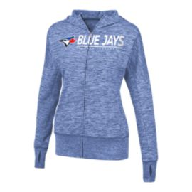 Toronto Blue Jays Women's Receiver Full Zip Hoodie