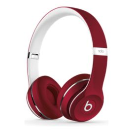 Beats Solo2 On-Ear Headphones – Luxe Edition, Red