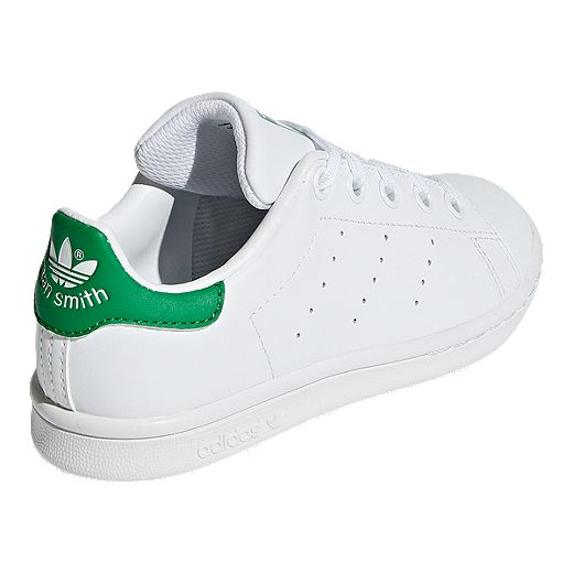 adidas Originals Kids' Stan Smith Preschool Shoes - White/Green