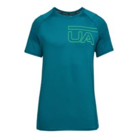 Under Armour Men's MK1 Printed Short Sleeve Shirt