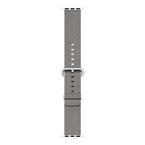 Apple Watch 38mm Nylon Band - Pearl Woven
