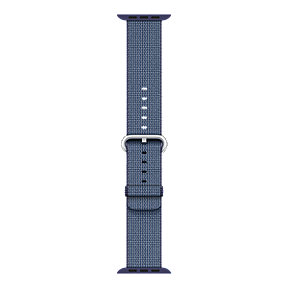 Apple Watch 42mm Nylon Band - Blue Midnight Woven
