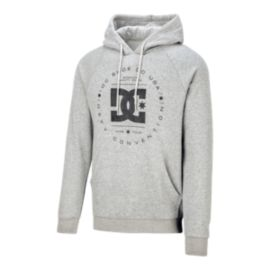 DC Men's Rebuilt Pullover Hoodie - Grey Heather