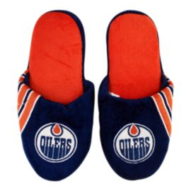 Edmonton Oilers Big Logo Slippers