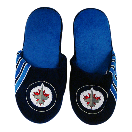 48b83df4d0f6 Winnipeg Jets Big Logo Slippers