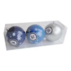 Winnipeg Jets Christmas Ornament Set - 3-Pack