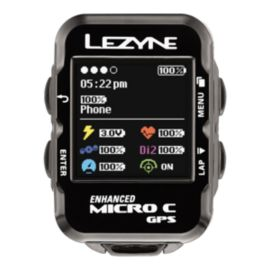 Lezyne Micro Colour GPS Cycling Computer with Heart Rate Strap