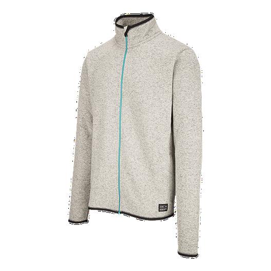 469644dcbc8d3 O'Neill Men's Piste Full Zip Fleece Hoodie - Charcoal Heather | Sport Chek