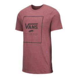 Vans Men's Print Box Short Sleeve T Shirt