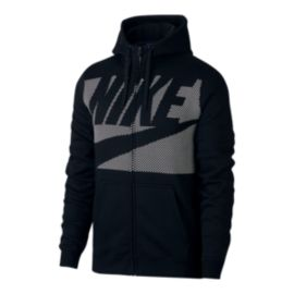 Nike Sportswear Men's Panel Print Full Zip Hoodie