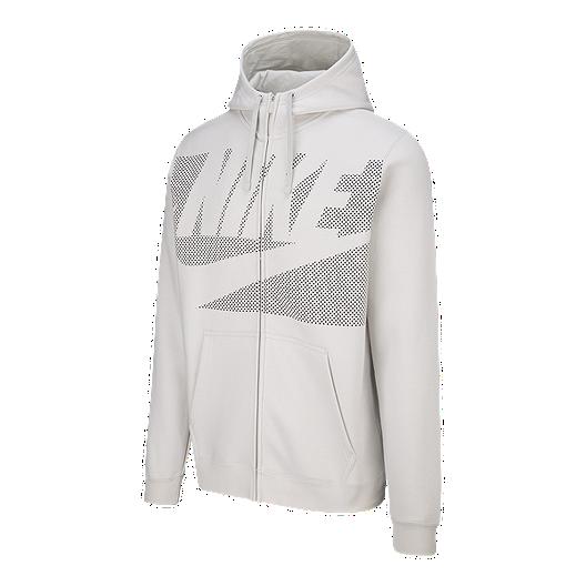 7bab458b00d4 Nike Sportswear Men s Panel Print Full Zip Hoodie