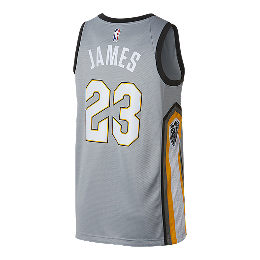 87ee7f13 Cleveland Cavaliers LeBron James City Edition Swingman Basketball Jersey |  Sport Chek