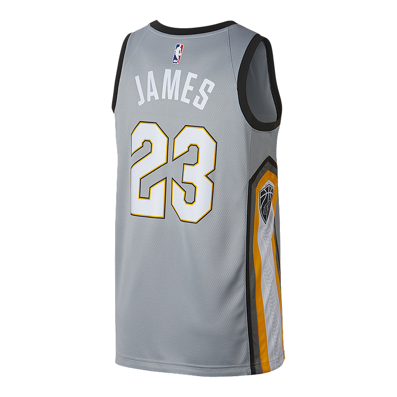 Cleveland Cavaliers LeBron James City Edition Swingman Basketball Jersey  94ee260b5