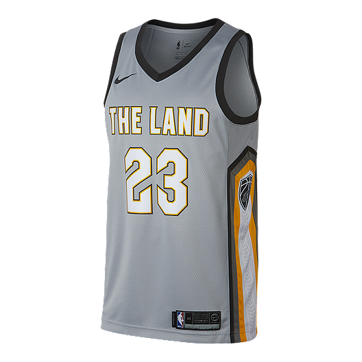 55f427a72 Cleveland Cavaliers LeBron James City Edition Swingman Basketball Jersey