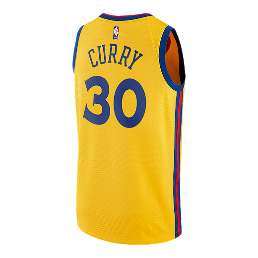 7d61f49b195 Golden State Warriors Steph Curry City Edition Swingman Basketball Jersey -  MED YELLOW