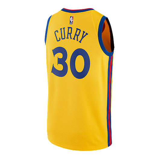 b23fee860b9 Golden State Warriors Steph Curry City Edition Swingman Basketball Jersey