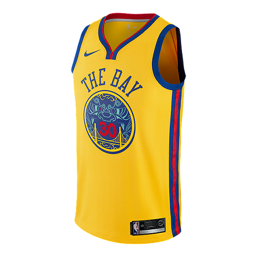 low priced 1742e 76e78 Golden State Warriors Steph Curry City Edition Swingman ...