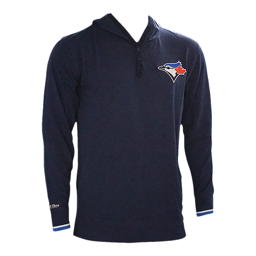 finest selection fdd9f d2862 Toronto Blue Jays Mitchell and Ness Men's Seal The Win Thin Hoodie
