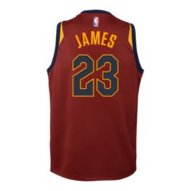 Cleveland Cavaliers Kids' LeBron James Icon Basketball Jersey