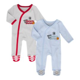 Toronto Raptors Infant Girls' Sunday Best Coverall Set - 2-Piece