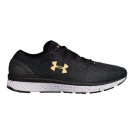 65aaa2d7e3d Under Armour Men s Charged Bandit 3 Ombre Running Shoes - Black Grey ...