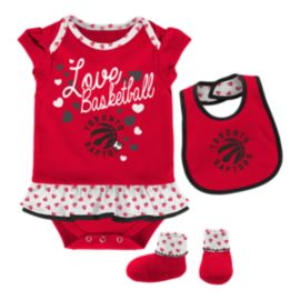 Toronto Raptors Infant Girls' Little Sweet Set