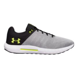Under Armour Men's Micro G® Pursuit 4E Extra Wide Width Training Shoes - Grey/Yellow