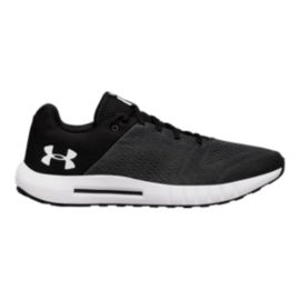 Under Armour Men's Micro G® Pursuit Running Shoes - Black/White