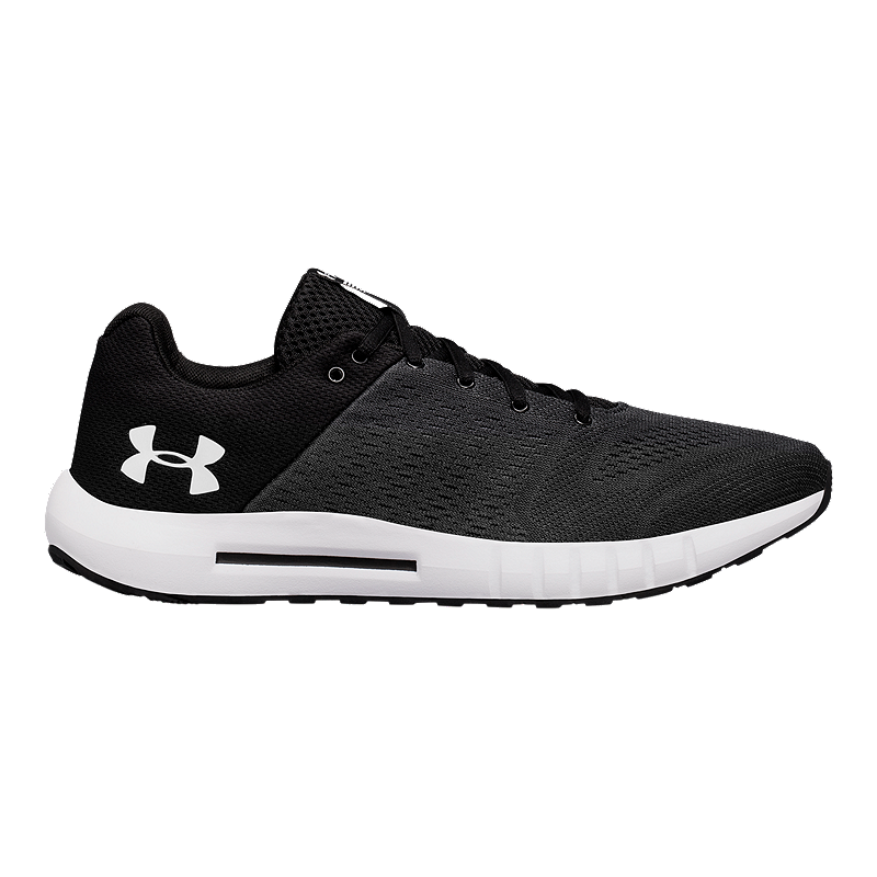 buy online a3bfe 28c82 Under Armour Men's Micro G® Pursuit Running Shoes - Black/White