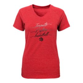 Toronto Raptors Girls' Triple Team Triblend T Shirt