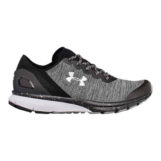64f9c3139128 Under Armour Women s Charged Escape Running Shoes - Black White ...
