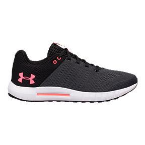 Under Armour Women's Micro G® Pursuit Running Shoes - Black/White